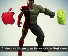 Android vs iPhone Users Behavior You Must Know. you have seen Apple and Android users. But, did you know that there are lots of difference between in their.