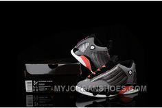 Authentic Nike Kids Air Jordan 14 Grey Pink Sneaker for Online Air Jordan 14, Air Jordan Shoes, Kids Clothing Rack, Cheap Kids Clothes, Clothing Stores, Kids Shoes Near Me, Boys Shoes, New Jordans Shoes, Kids Jordans