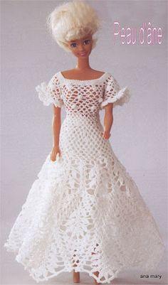 barbie crochet - Zosia - Picasa Webalbums. Crochet Barbie ClothesCrochet  DollsLe ...