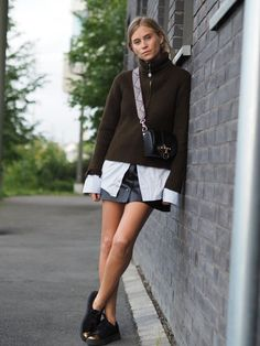 5 Ultra-Chic Ways To Style A Skirt This Fall