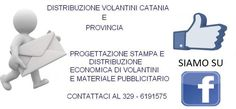 Pratico volantinatore Catania