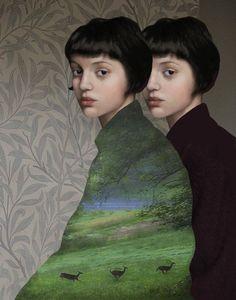 """Dual nature"" by Daria Petrilli"