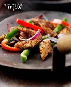 Sauté de poulet au chili et à la lime #recette