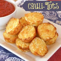 Cheesy, crispy, so amazingly good Baked Cauli-Tots can easily replace those other tots as your family's favorite side dish.