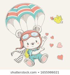 Portfolio di foto e immagini stock di Helga Gavrilova Clipart Baby, Baby Animal Drawings, Cute Drawings, Baby Animals, Cute Animals, Retro Logos, Vintage Logos, Vintage Typography, Art Mignon