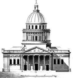 Jacques- Germain Soufflot – kościół św. Genowefy w Paryżu