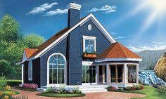 Plano de casas gratis de dos pisos y tres habitaciones | Planos de Casas