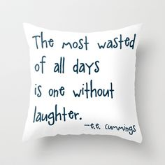 Quote Pillow Throw Pillow by abDesigns - $20.00