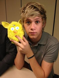 Niall and a Ferby
