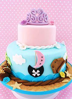 Our Pirate & Princess Cake
