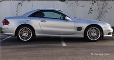 Mercedes SL 55AMG V8 Kompressor ...here we sell dreams. Classic cars , youngtimers & sport cars - Photo by @sl_garage