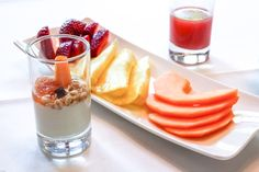 The sweetest things. Healthy and smooth. Breakfast for gourmet