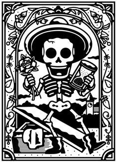 An illustration for Espolón Tequila.