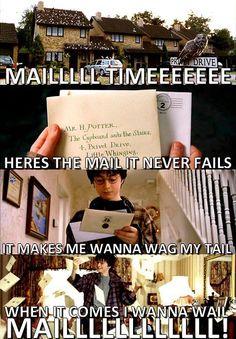 HAHAHAHAHAHA!!!! Yeah Blue's Clues/Harry Potter hilarity!