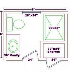Small Bathroom Plans 5 X 7 Bathroom Layout Bathroom Floor Plans