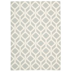 Mercury Row Nova Area Rug in Gray