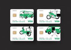 紙上行旅設計新版郵局金融卡大獲好評,不過這是假的,讓網友好失望。(圖擷取自臉書紙上行旅)