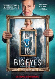 'Big eyes' es la última película dirigida por Tim Burton que se acaba de estrenar. El filme tiene a sus espaldas varias nominaciones: 3 Globos de Oro: al mejor actor de comedia (Waltz), mejor actriz de comedia (Adams) y mejor canción. Nominada a Mejor guión en los Independent Spirit Awards y por último, 'Big eyes' ha sido nominada como la mejor canción en los Critics Choice Awards.
