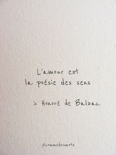 "The poetry of the senses - La poésie des sens ""Love is the poetry of the senses."" of # HonorédeBalzac # positive thinking Citation Love, Fancy Words, Free Mind, Best Dating Sites, French Quotes, Verse, Some Words, Positive Attitude, Famous Quotes"