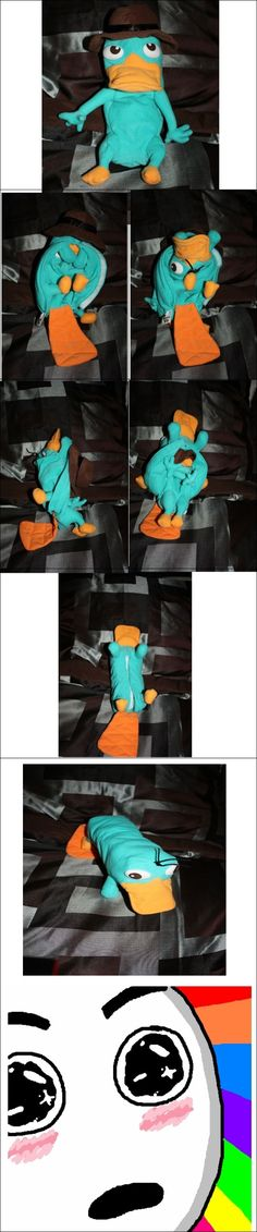 Awesome transforming Perry the platypus! I need this!