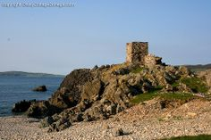 CARRICKABRAGHEY CASTLE, ISLE OF DOAGH, INISHOWEN, CO DONEGAL, IRELAND.