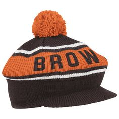 3c2a22fee Cleveland Browns Mitchell   Ness Throwback Winter Caddy Knit Hat Redskins  Apparel