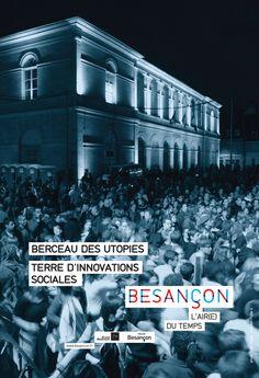 Besançon, berceau des utopies France, Movie Posters, Movies, Bassinet, Rural Area, Earth, Films, Film Poster, Cinema
