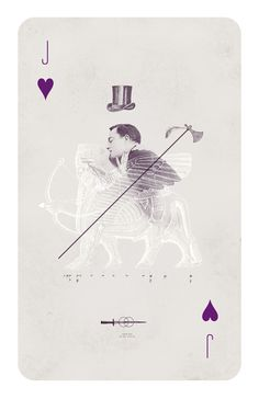 Playing Cards by Anna Pietrzak, via Behance