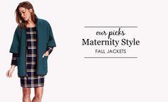 Fall Maternity Jacke