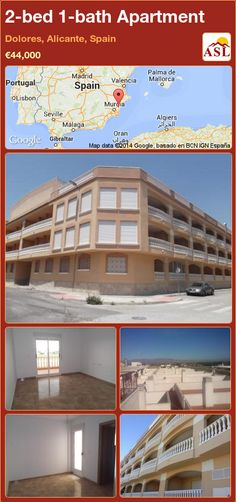 2-bed 1-bath Apartment in Dolores, Alicante, Spain ►€44,000 #PropertyForSaleInSpain