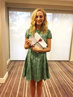 Candice at the TVD Orlando Convention 2016