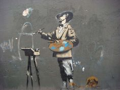 Banksy - PYMCA/UIG via Getty Images