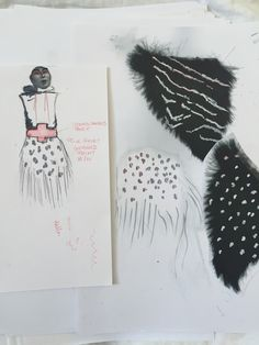 quick sketch and collecting ideas / developing designs #2