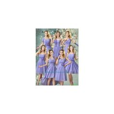 Tea Length Bridesmaid Dresses | Indian Bridesmaid Dresses via Polyvore