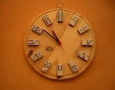 10 ideas para fabricar un reloj de pared