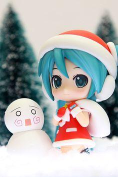 """No.280 初音ミク サンタVer.『キャラクター・ボーカル・シリーズ01 初音ミク』Hatsune Miku: Santa Ver. """"Character Vocal Series 01: Hatsune Miku"""" 2012年12月"""