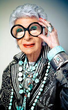 Lady Moio: Você precisa conhecer Iris Apfel