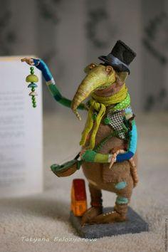 Коллекционные куклы ручной работы. Ярмарка Мастеров - ручная работа. Купить Бродяга Шмыгль. Handmade. Комбинированный, Паперклей