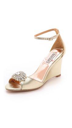 Badgley Mischka Harmony II Wedge Sandals