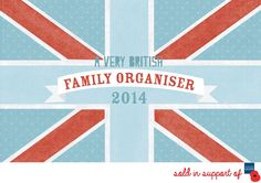 Poppy Shop A Very British Family Planner 2014