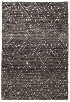 Kabarnet Tribal Jute Floor Rug Natural Fiber Rugs, Natural Rug, Tribal Rug, Tribal Prints, Coastal Rugs, Tribal Patterns, Jute Rug, Grey Rugs, Modern Rugs
