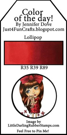 Color of the Day 215 Lollipop Red