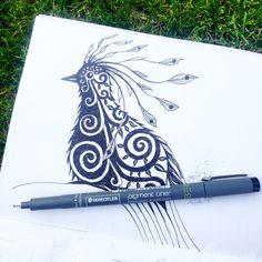 Garden doodles from my #sketchbook @illustrator_eye
