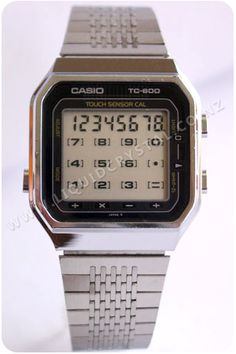 Step aside, Apple Watch! I had the Casio TC-600 in the early 80s at it had a touch screen calculator.