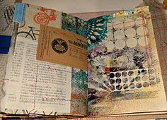 One of the pages Inside ROD journal.