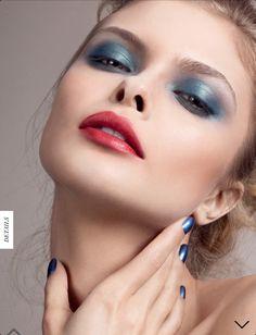 Spring 2013 - Make na revista Harrods de junho 2013. | Blue eyes