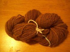 100% Handspun Alpaca Yarn #craft