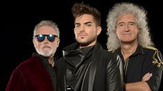 Queen + Adam Lambert - AWESOME picture, boys!!