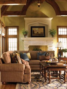 Overland 2-Piece Sectional | Lexington | Home Gallery Stores