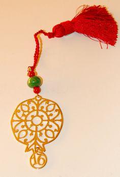 Christmas charm pomegranate #xrisart